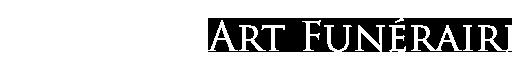 Art Funéraire Logo